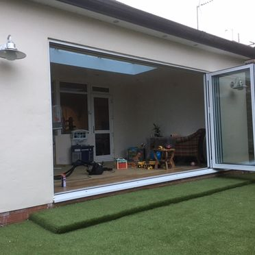 Bi Folding Doors Home Extension