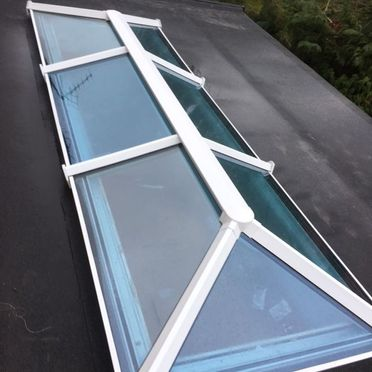 Glass Roof Installation